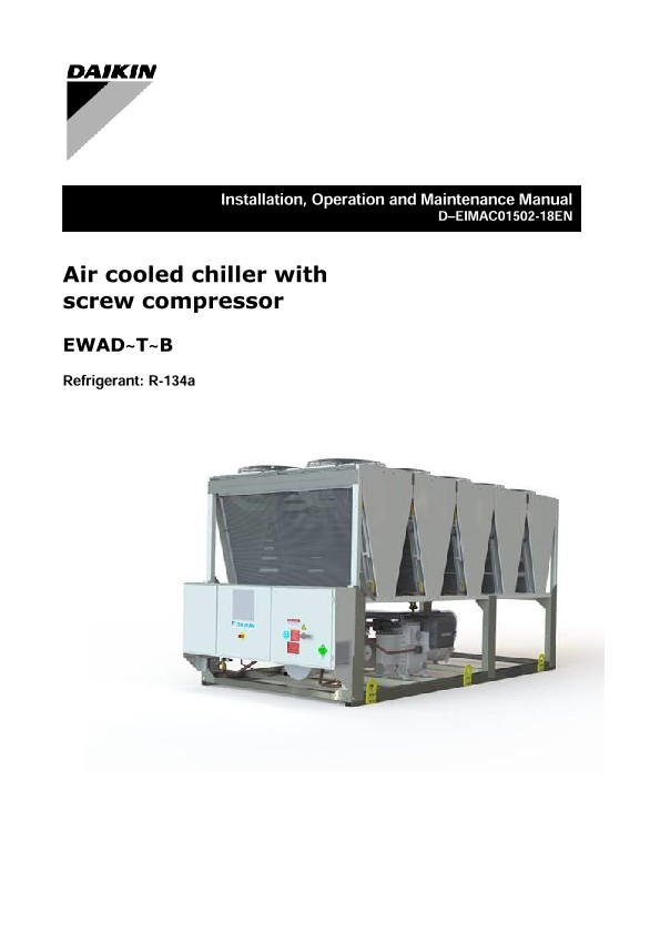 air cooled chiller operation pdf
